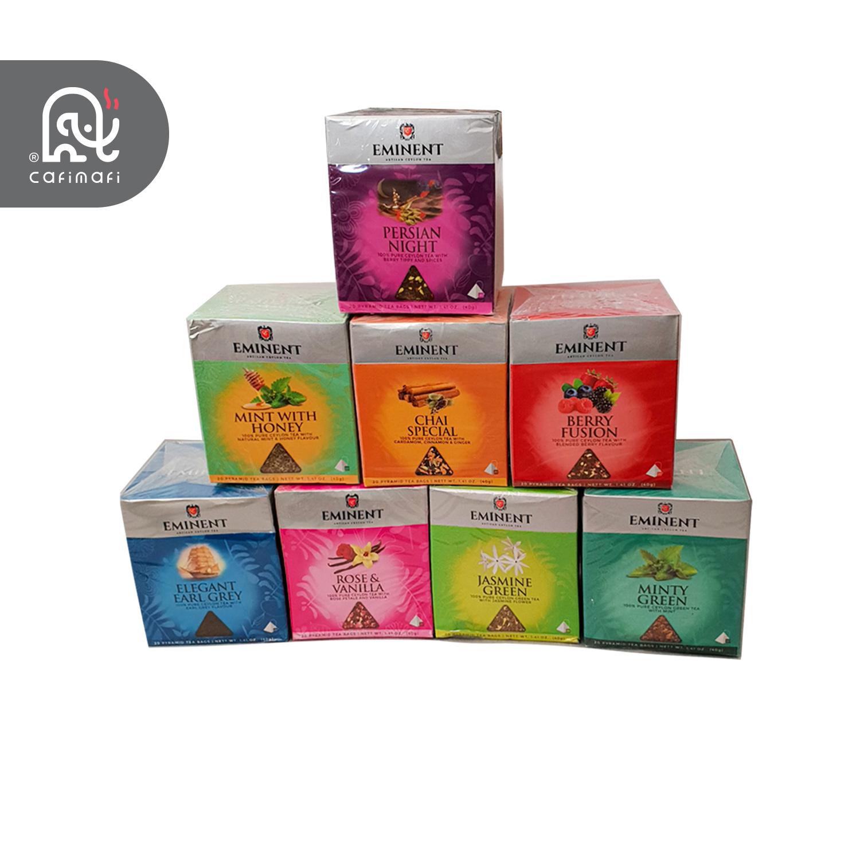 چای کیسه ای  امیننت با طعم گل محمدی - وانیل
