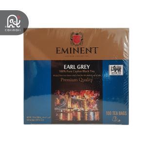 چای کیسه ای امیننت مدل ارل گری 100 عددی