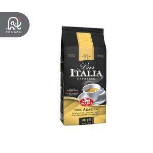 قهوه اسپرسو ساکوئلا ایتالیا مدل Bar Espresso نیم کیلویی