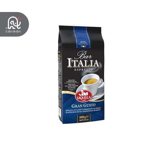 قهوه گرن گوستو ساکوئلا ایتالیا آبی  1 کیلوگرمی
