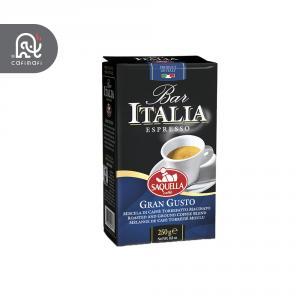 قهوه ایتالیا ابی مدل گرن گوستو ساکوئلا  250 گرمی  .