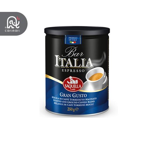 قهوه ایتالیا ابی مدل گرن گوستو ساکوئلا  250 گرمی