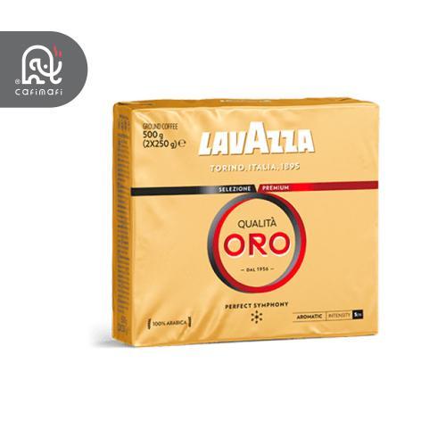 قهوه لاوازا کوالیتی اورو  2عددی 500 گرمی (2 بسته 250 گرمی)