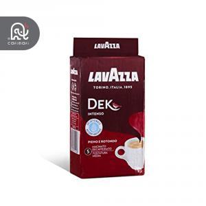 قهوه لاوازا بدون کافئین  مدل Dek Intenso