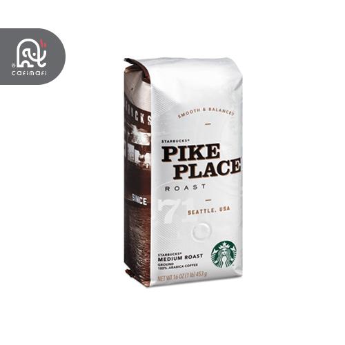 دانه قهوه استارباکس پیک پلیس pike place