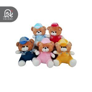 عروسک خرس اسپرت رنگی