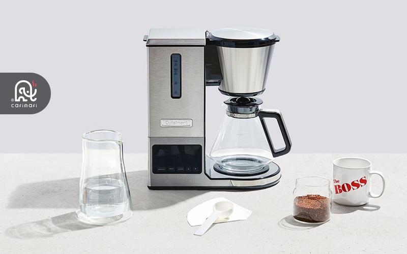طرز تهیه قهوه با قهوهساز