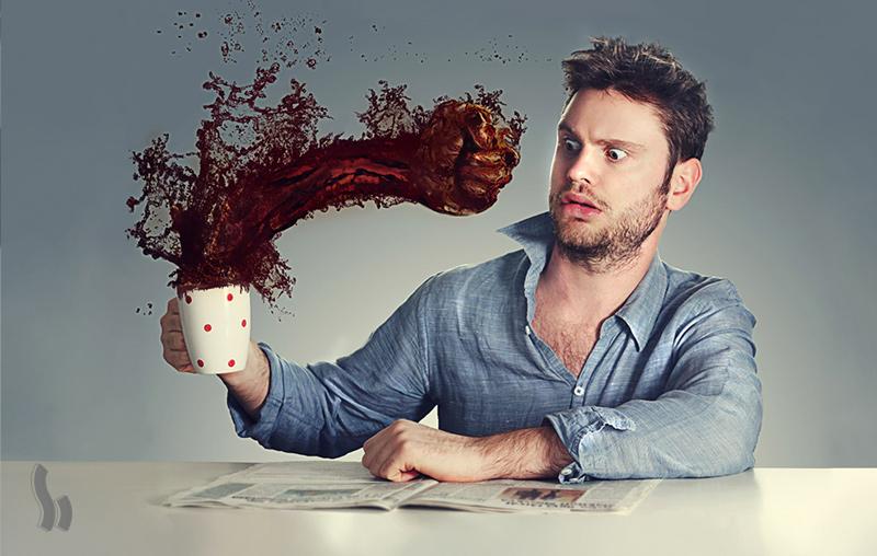 قهوه بد