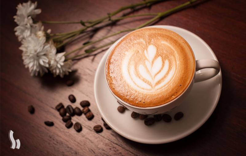 روش تهیه قهوه لاته