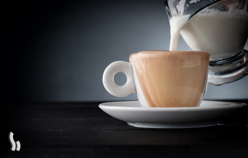 روش تهیه قهوه های با پایه شیر