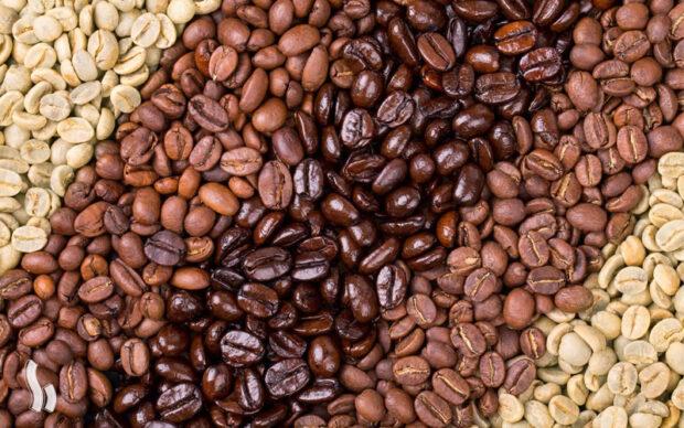 انواع درجه رست قهوه