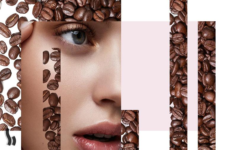 اسکراب صورت و لب قهوه