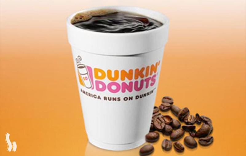 قهوه دانکین دونات
