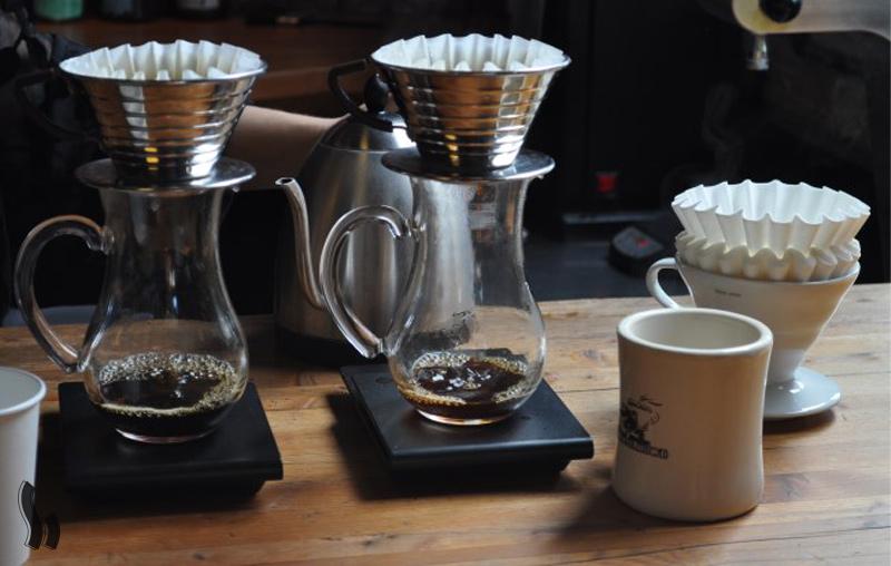 قهوه را وزن کنید